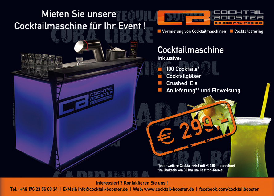 Cocktail Booster Castrop-Rauxel